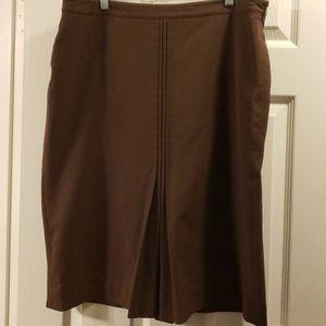 Apostrophe Brown skirt size 16